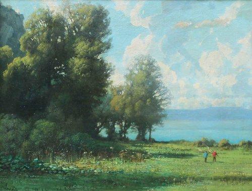 Maurice Buchin (1818-1893) - Landscape