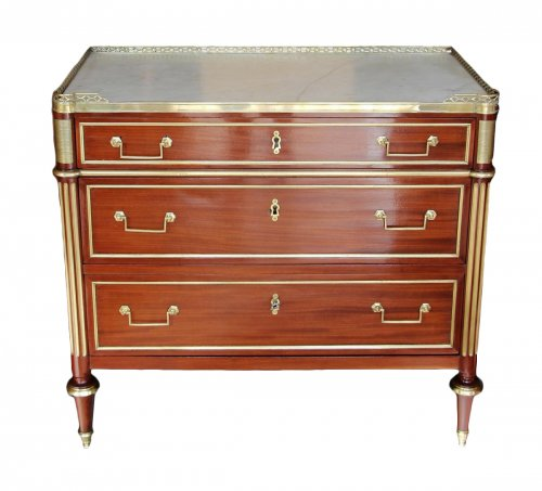 Commode Louis XVI mahogany