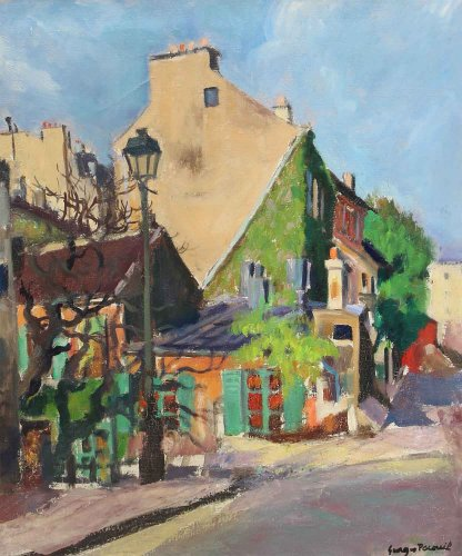 Georges Pacouil (1903-1997) - Le Lapin agile