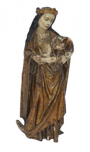 Virgin with the crescen
