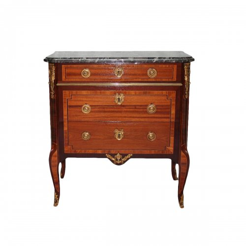 French Transition Commode,  Jean-Henri RIESENER (1734-1806)
