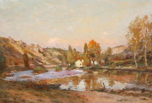Paintings & Drawings  - Mil in Chauvigny - Jean Massé (1856-1950)