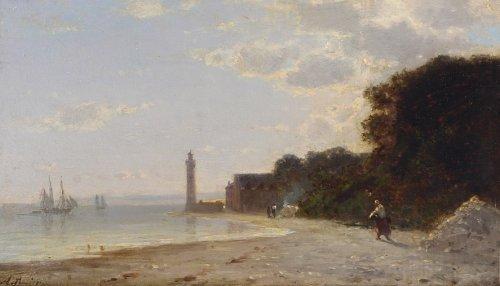 Amédée Rosier (1831-1898) - Honfleur - Paintings & Drawings Style