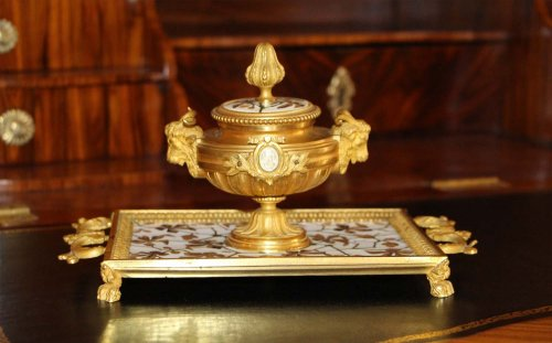 Decorative Objects  - Inkstand - Ferdinand DUVINAGE (1813-1874)