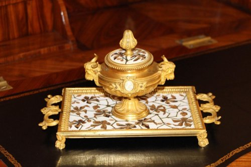 19th century - Inkstand - Ferdinand DUVINAGE (1813-1874)