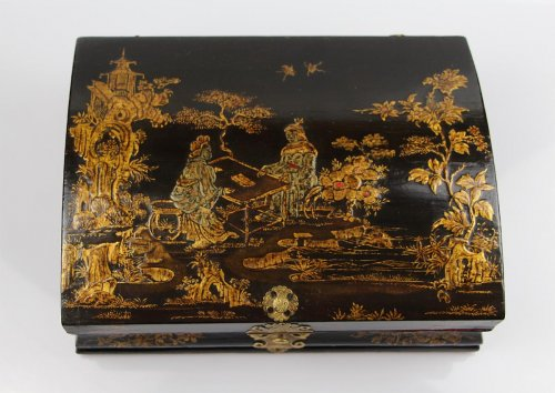 Collectibles  - Louis XV Lacquered wood Wig box