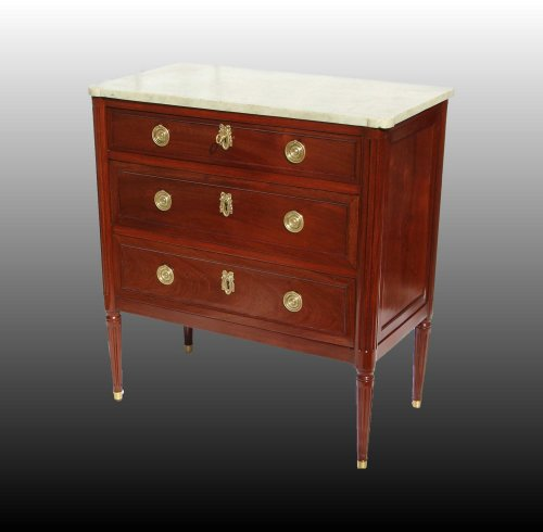 FrenchLouis XVI commode Stamped E. AVRIL - Furniture Style Louis XVI