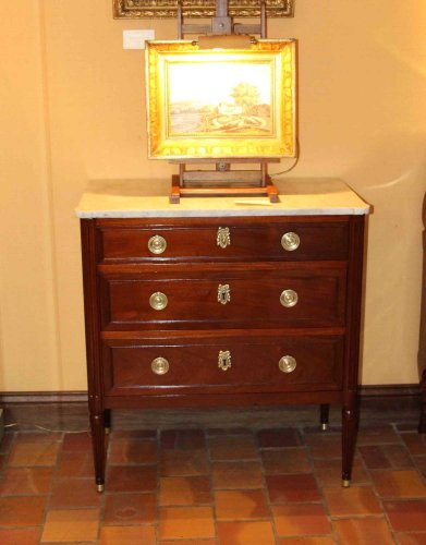 FrenchLouis XVI commode Stamped E. AVRIL -
