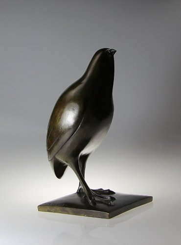 Sculpture  - Partridge - Armand Petersen (1891-1969)