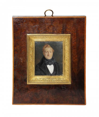 Miniature, Beaunis Father (active Between 1819 and 1860)
