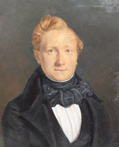 Paintings & Drawings  - Miniature, Beaunis Father (active Between 1819 and 1860)