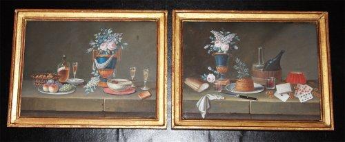 Paintings & Drawings  - Johann Rudolf FEYERABEND (1779-1814) dit LELONG
