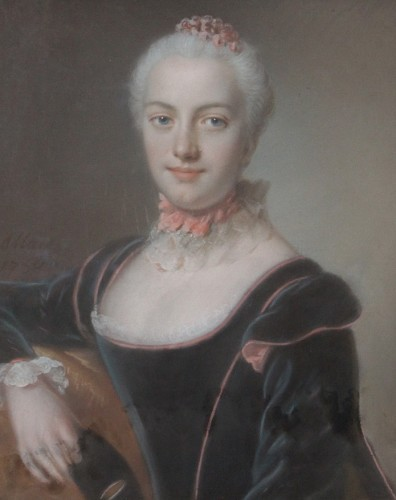 Portrait of woman - Pierre ALLAIS (1700-1781)