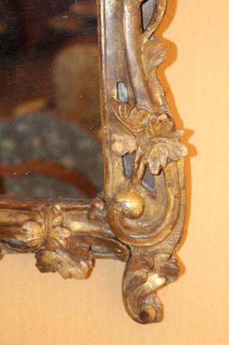 Mirrors, Trumeau  - A Louis XV giltwood mirror