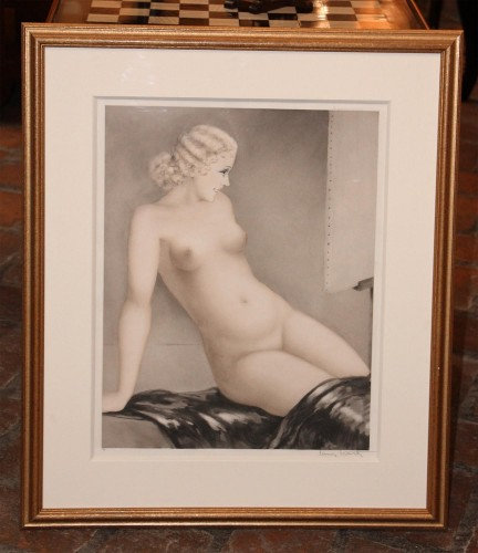 Engravings & Prints  - Louis ICART (1888 - 1950) - The Model 1933