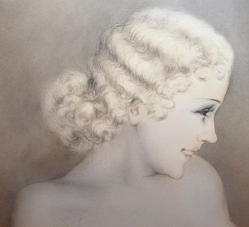 20th century - Louis ICART (1888 - 1950) - The Model 1933