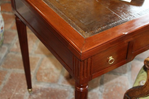 """Tric-trac"" Louis XVI, stamped Vassou - Furniture Style Louis XVI"