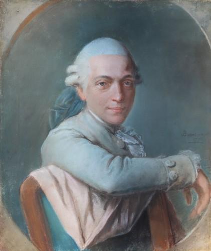 Pierre-Martin BARAT (1736 -1787) - Gentleman's portrait