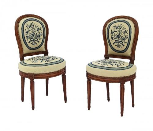 Pair Of Louis XVI Period Chairs