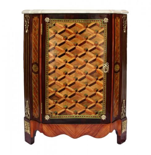 Louis XVI Corner cabinet