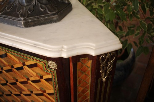Furniture  - Louis XVI Corner cabinet