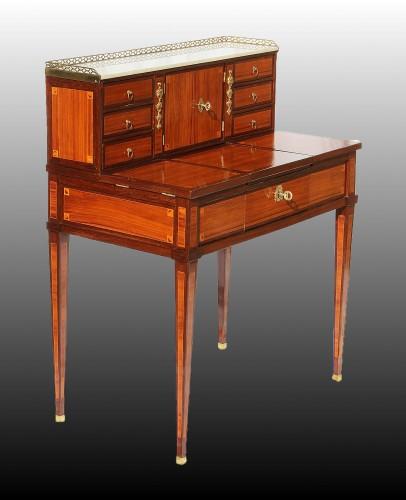 « Bonheur Du Jour » Dressing Table Louis XVI - Furniture Style Louis XVI