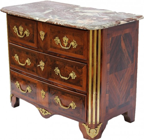 French Commode of Regence Period  - Furniture Style French Regence