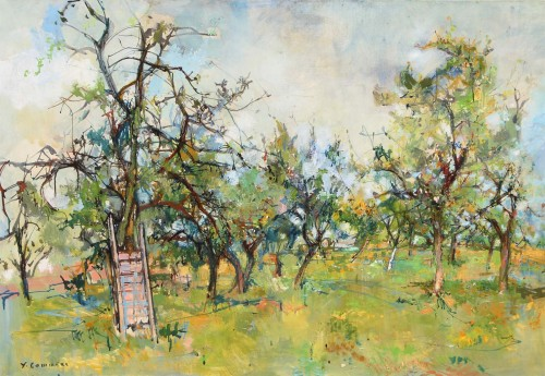 Jean Commère (1920-1986) - The orchard
