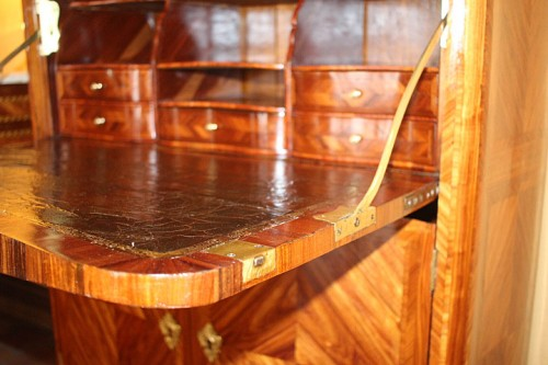 Louis XV - French Louis XV secretaire stamped Jean-Charles Saunier