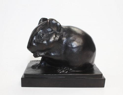 Armand Petersen (1891-1969) - Guinea pig - Sculpture Style