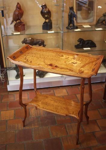 Émile GALLÉ (1846-1904) - Tea table - Furniture Style Art nouveau