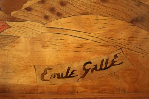 Furniture  - Émile GALLÉ (1846-1904) - Tea table