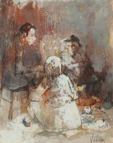 Conversation - Jean Jansem (1920-2013)  - Paintings & Drawings Style 50