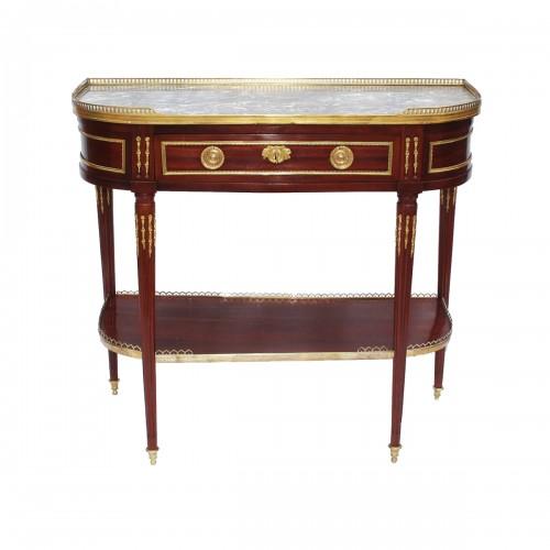 Louis XVI Console table by J. CAUMONT