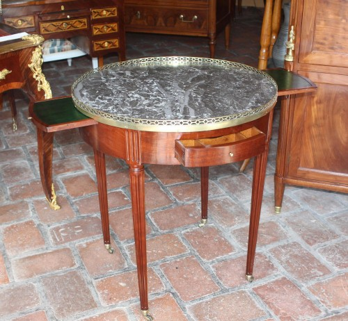 "Table ""Bouillotte, Stamped CASPARD SCHNEIDER   -"