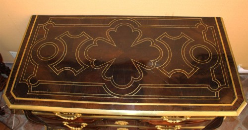 French Regence - Mazarine Commode by Thomas HACHE (1664-1747)