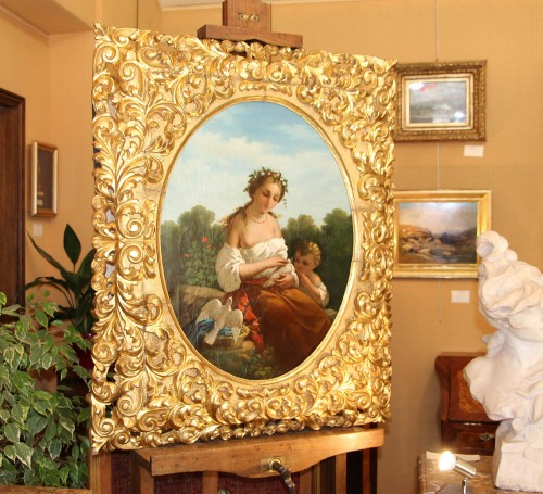 Italian neoclassical school - Paintings & Drawings Style