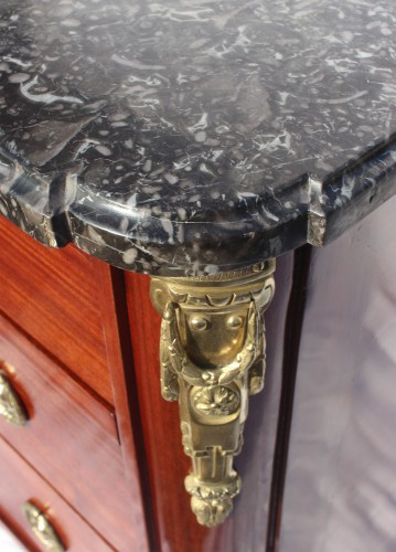 18th century - French Louis XVI commode Stamped F.SCHEY