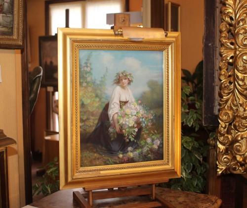 Flora - Hugues MERLE (1823-1881) -