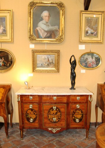 FrenchLouis XVI Commode stamped Jacques Bircklé -