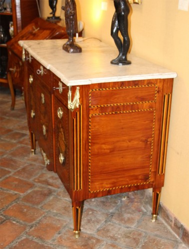 18th century - FrenchLouis XVI Commode stamped Jacques Bircklé