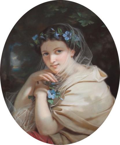 Hugues MERLE (1823-1881) - Hippomenes