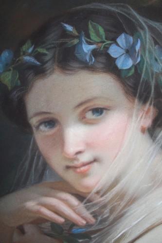 19th century - Hugues MERLE (1823-1881) - Hippomenes