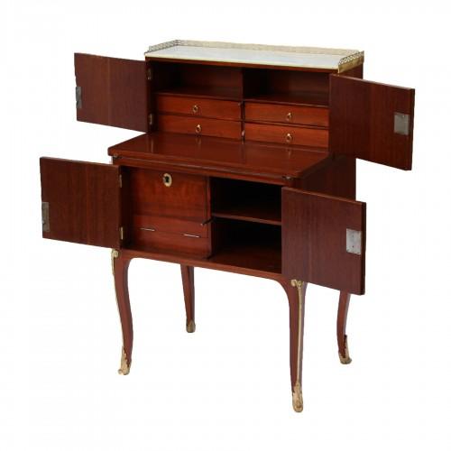 """""""Bonheur du jour d'époque"""" stamped Guillaume Cordié - Furniture Style Transition"""