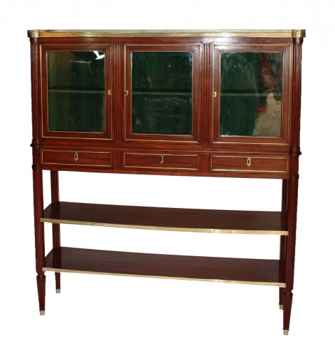 Serving Mahogany Louis XVI