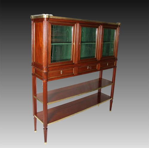 Serving Mahogany Louis XVI - Furniture Style Louis XVI