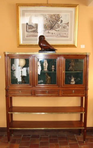 Furniture  - Serving Mahogany Louis XVI