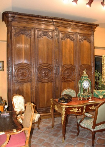 Woodwork Cabinet 18th century - Furniture Style French Regence