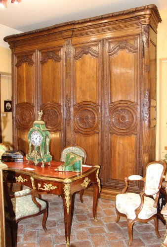 Woodwork Cabinet 18th century - French Regence