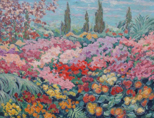 Flowers - Jac MARTIN-FERRIERES (1893-1972)